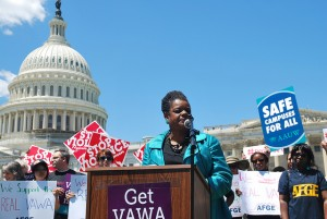 VAWA rally image by Leadership Conference on Civil and Human Rights via Flickr (http://www.flickr.com/photos/lccr/7456898524/)