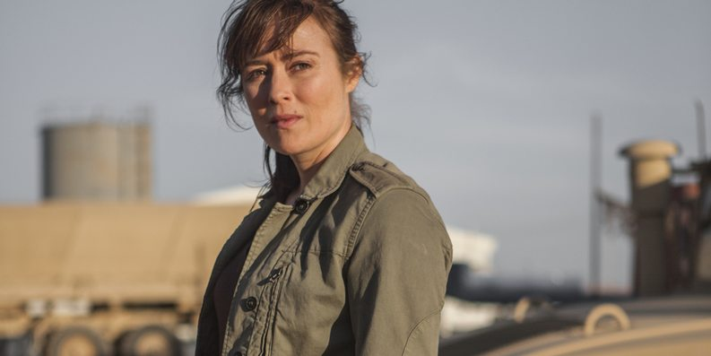 Jennifer Ehle as Jessica in 'Zero Dark Thirty'