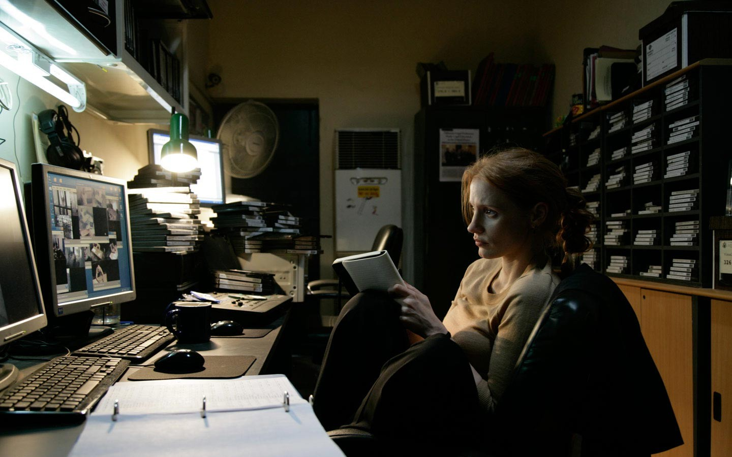 Jessica Chastain as Maya in 'Zero Dark Thirty'