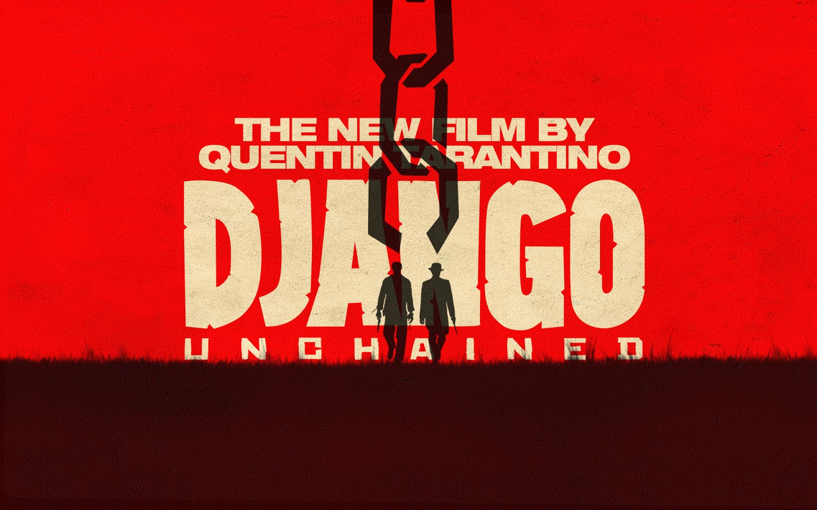 Django Unchained poster red