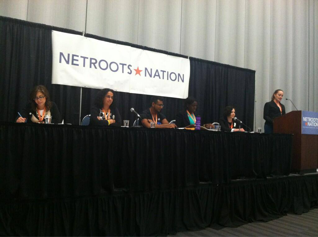 Netroots panel