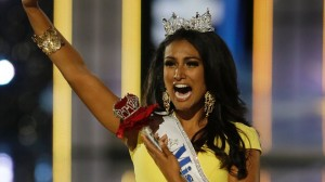 Miss New York Nina Davuluri walks down the runway after winning the the Miss America 2014 pageant, Sunday, Sept. 15, 2013, in Atlantic City, N.J. Mel Evans/AP Photo