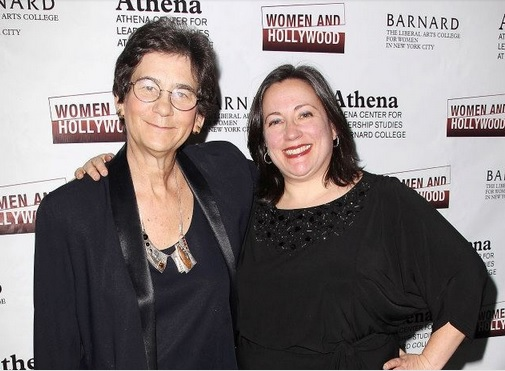 Co-Founders of the Athena Film Festival, Kathryn Kolbert and Melissa Silverstein [Photo by: Kristina Bumphrey/Starpix]