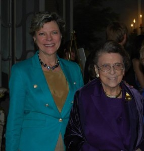 Cokie Roberts with her mother Lindy Boggs