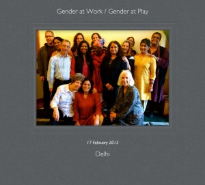 Collaboratory Planning Meeting-- Gender at Play! — at India Habitat Centre.