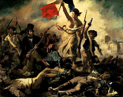 Liberty Leading the People by Euguene Delecroix 1830